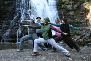 Hiking and Yoga Retreat in Bozeman, Montana with Margaret Burns of Cowgirl Yoga